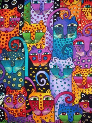 Cats - Laurel Burch