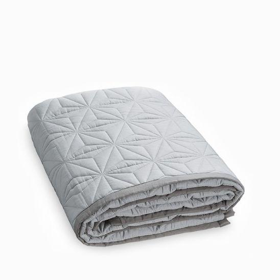 Cam Cam Baby Quilt (Grey)