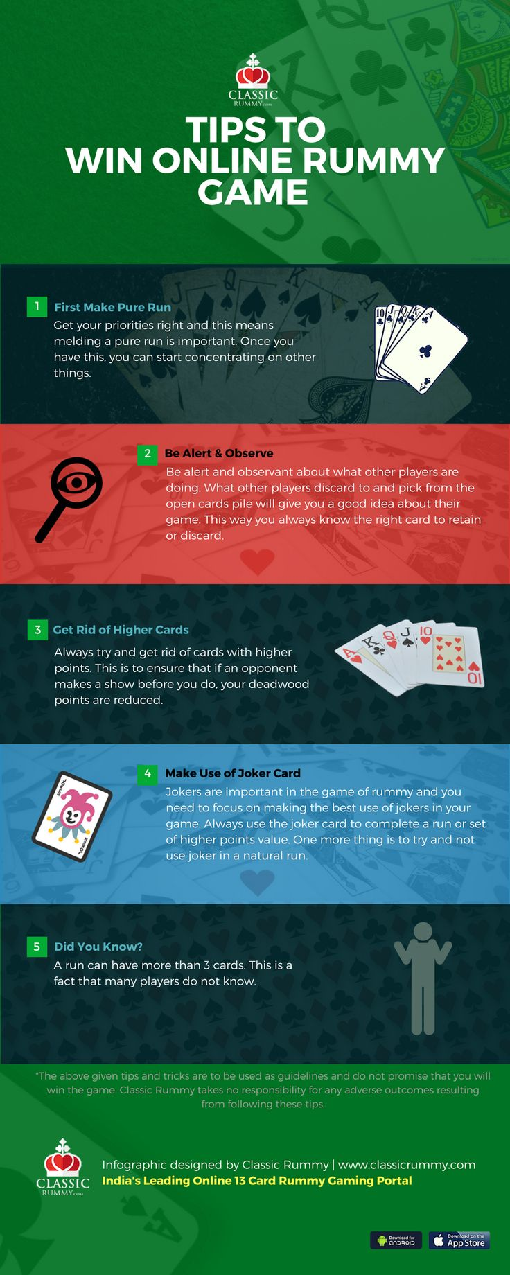 Here are few tips to win online indian rummy game and to improve the gaming skill. #tips #tricks #online #rummy #game #card