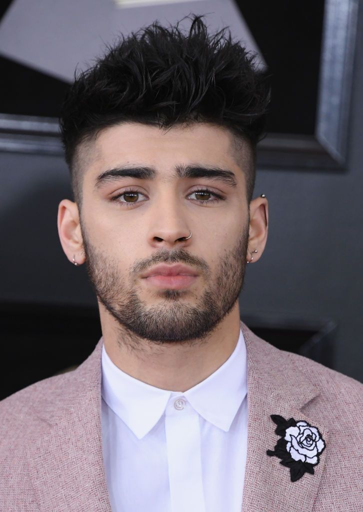 Zayn Malik Hairstyle Fade Haircuts For Men Wedding Haircut Faded Hair