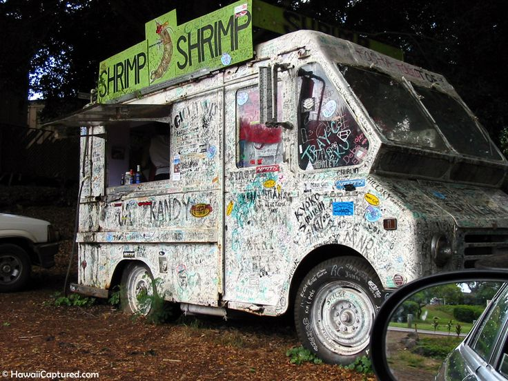 Giovanni's Shrimp Truck in Haleiwa   Hawaiʻi Captured - bring these back, so classic!
