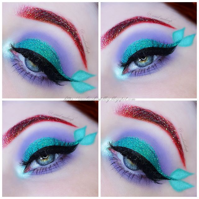 Ariel Make Up ~ Make Up & Beauty with a Princess Touch: ♕ The Mermaid Series ~ Ariel ♕{Inspired by Laura @theclassicalmua}