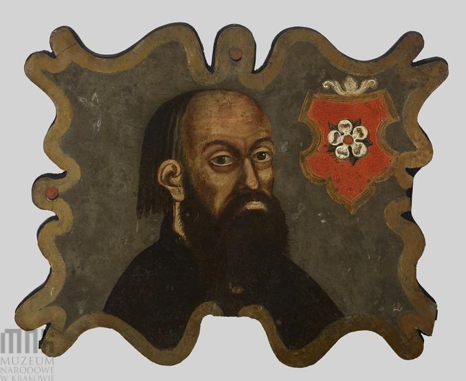 Portret trumienny mężczyzny herbu Poraj