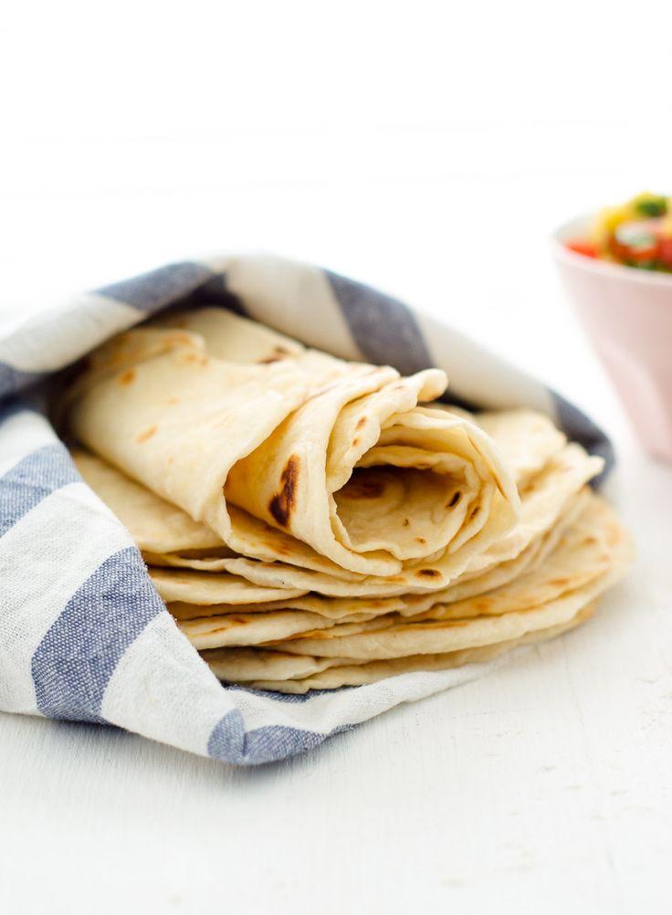 how to make homemade flour tortillas easy