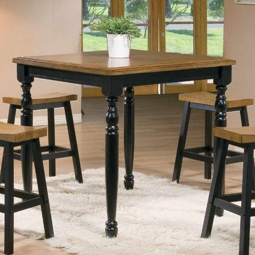 Winners Only Quails Run Counter Height Square Tall Dining Table   Dining  Tables At Hayneedle