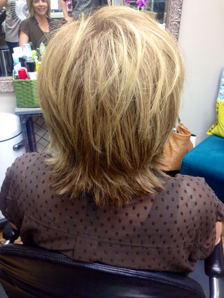 Back View Layered Hair | Hair Styles we have Done or Love