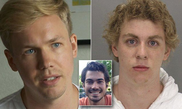 Carl-Fredrik Arnt and Peter Jonsson were biking on Stanford's Palo Alto, California campus on January 18, 2015 when they noticed Brock Turner raping a woman by some dumpsters.