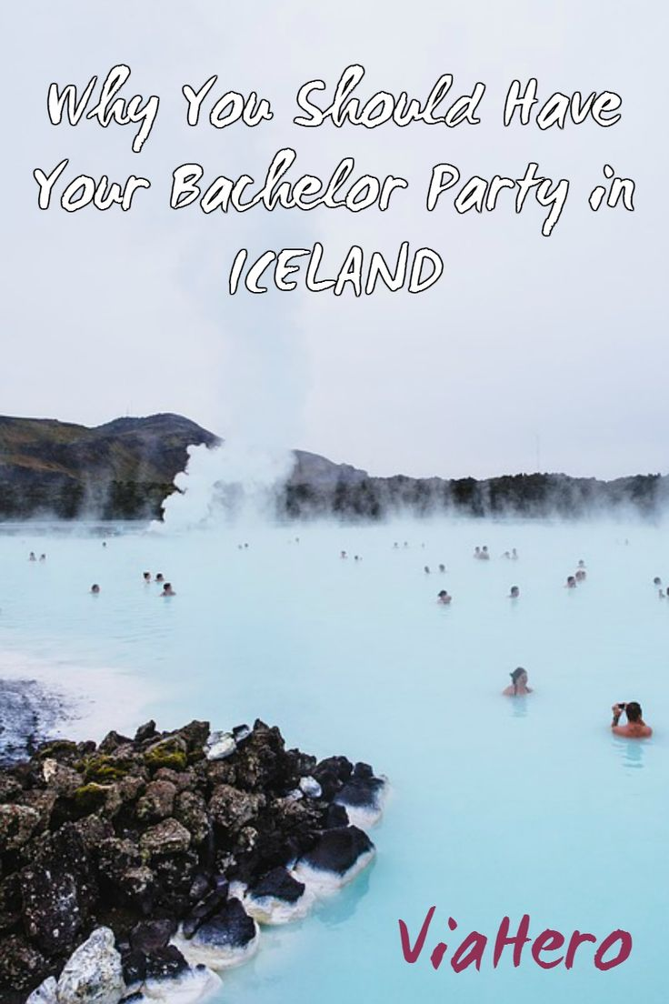 Reykjavik has some of the craziest nightlife in Europe. The Icelandic landscape has some of the most beautiful views and most fun adventure activities in the world. And, plane tickets from the U.S. are cheap now. That's why Iceland is quickly replacing Vegas as the top bachelor party destination.