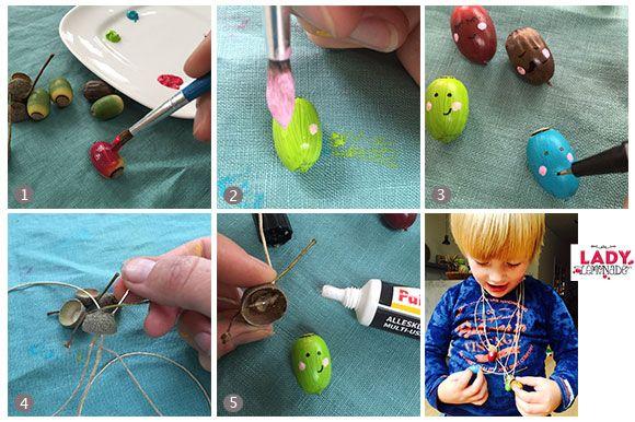 Lady Lemonade || DIY: Blije eikel ketting