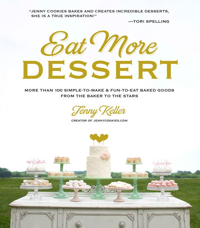 Eat More Dessert Book By Jenny Keller GIVEAWAY on Kara's Party Ideas KarasPartyIdeas.com