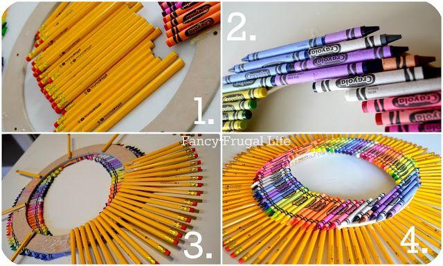 http://fancyfrugallife.com/crayon-pencil-wreath-back-to-school-craft/