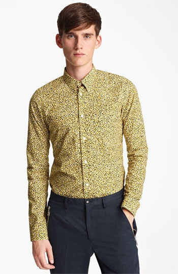 KENZO Camo Print Dress Shirt available at Nordstrom