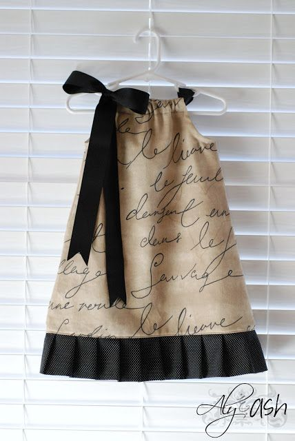 Febuary Sewing Project: Pillowcase Dresses Part II