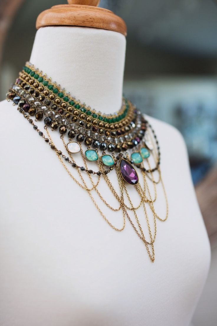 'River Nile' necklace, the ultimate statement piece.