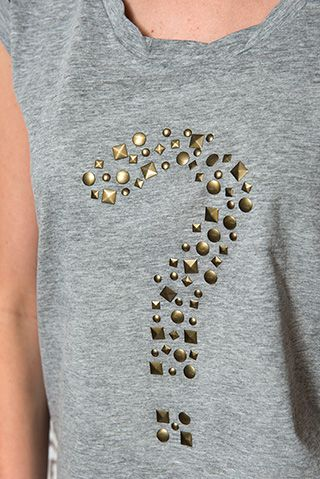 T-SHIRT MET STUDS | Veritas BE