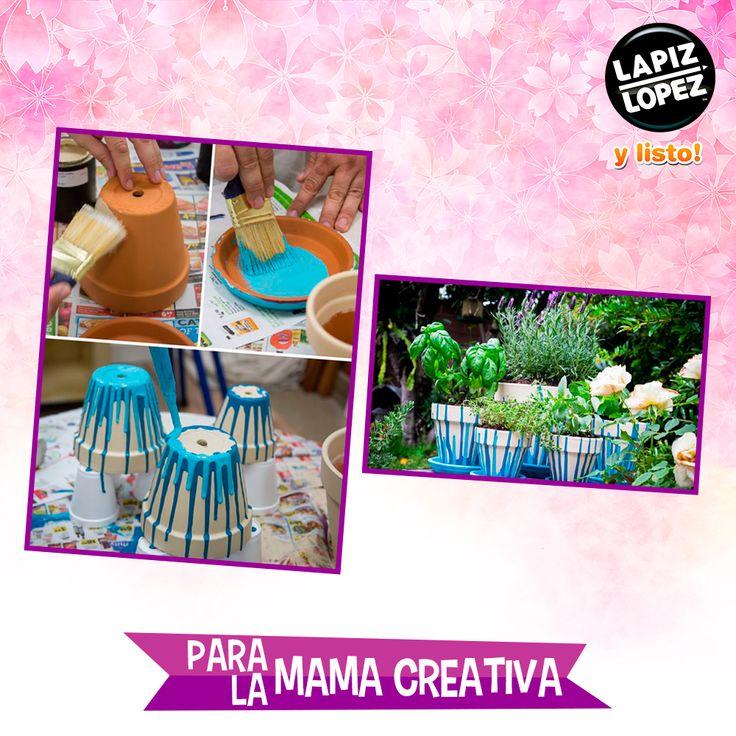 ¡Tu patio o terraza se verá mucho más colorido con esta idea!
