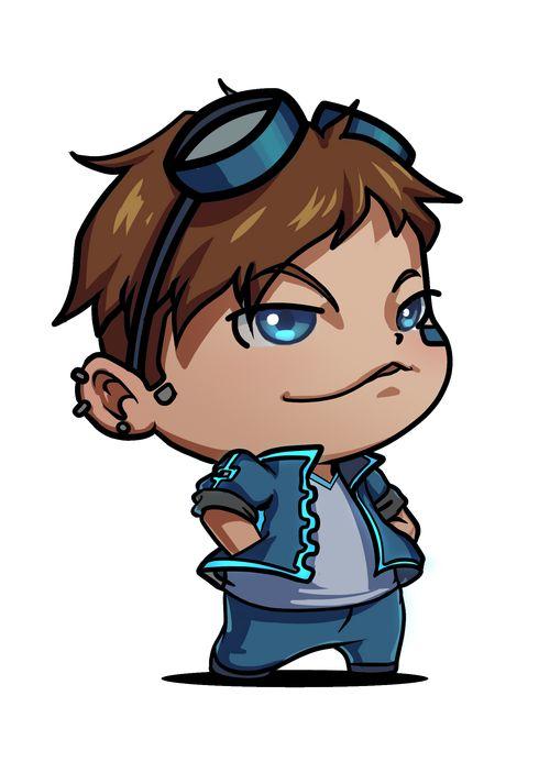 Pimpin Scott, character from alumni game Cyberpunk Casanova