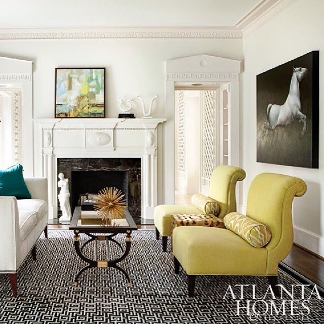 Atlantahomesmag 39 s photo on instagram organizing living for Living room organization furniture