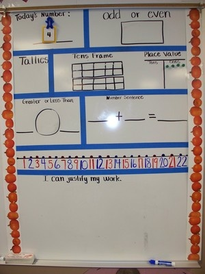 Mrs. Grochocki's Daily 5 Math - lots of great ideas for Daily 5 Math in kindergarten