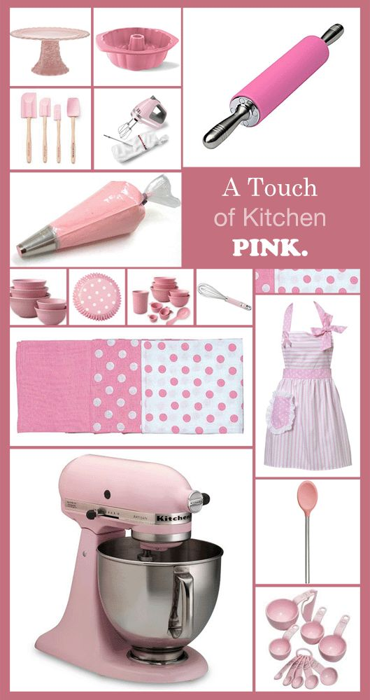 Pretty in Pink Baking time: if I had all these, I would cook more bakery goods for Mr Dan lol
