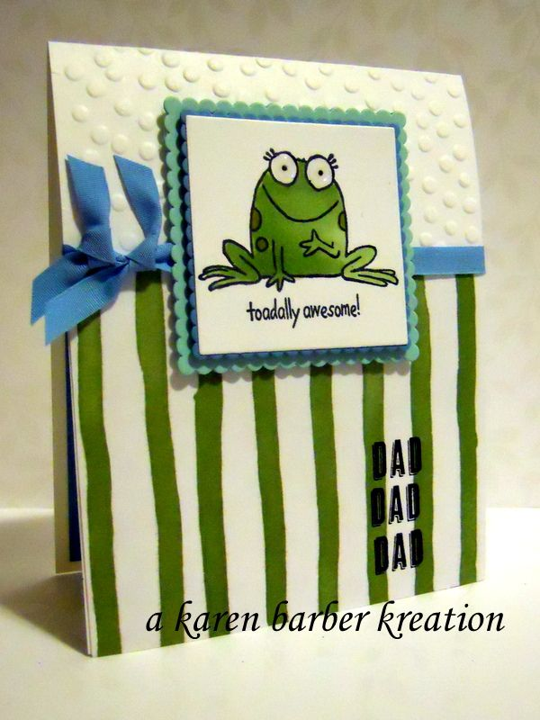 73 best frog cards images on Pinterest | Frogs, Animal cards and ...