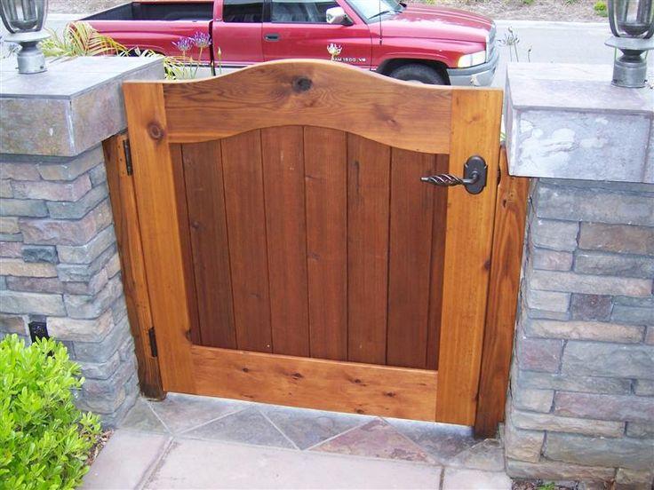 Cedar Courtyard Entry Gate