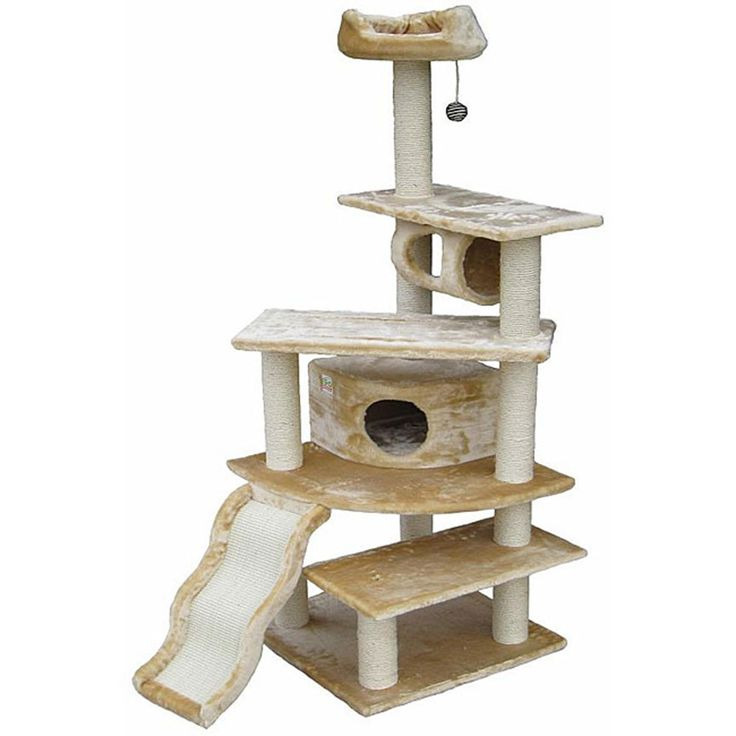 Condo House Scratcher 70-inch cat tree -- Remarkable product available now. : Cat Tree and Tower