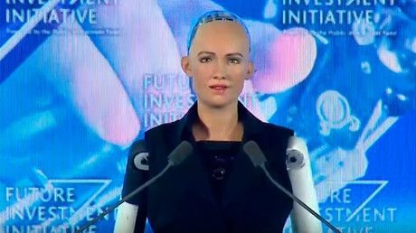 "Saudi Arabia grants citizenship to humanoid robot (VIDEO) https://tmbw.news/saudi-arabia-grants-citizenship-to-humanoid-robot-video  Saudi Arabia has become the first country to grant citizenship to a robot. The lucky machine is Sophia the Humanoid, who was designed to look like Audrey Hepburn.News of Sophia's citizenship was announced at the Future Investment Initiative in Riyadh, Saudi Arabia on Wednesday.""I am very honored and proud for this unique distinction,"" Sophia said in an…"