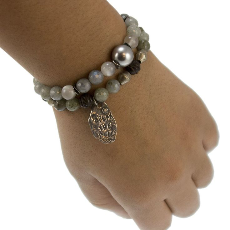 Designs available exclusively at Michellemarocco.com.  Use promo code Pinterest for a 20% discount.     #yoga jewelry #beaded jewelry #gemstone beaded jewelry #gemstone beaded bracelet #yoga bracelet #niyama jewelry #niyama by marocco #meditation jewelry #buddha Jewelry #michelle marocco #marocco jewelry #diamonds and leather  #moonstone bracelet #moonstone jewelry #moonstone Beads #pearl bracelet #pearl jewelry