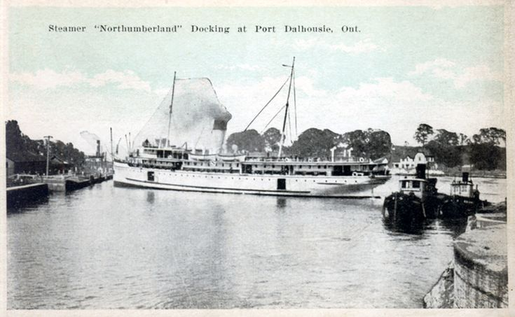 Steamer Northumberland docking at Port Dalhousie Ont [Ontario] (image/jpeg)