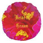 Sweet Vigorosa Flowers Round Pillow #weddinginspiration #wedding #weddinginvitions #weddingideas #bride