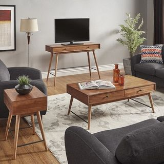 Shop For Aksel Brown Wood Accent Tables By MID CENTURY LIVING. Get Free  Shipping Part 49