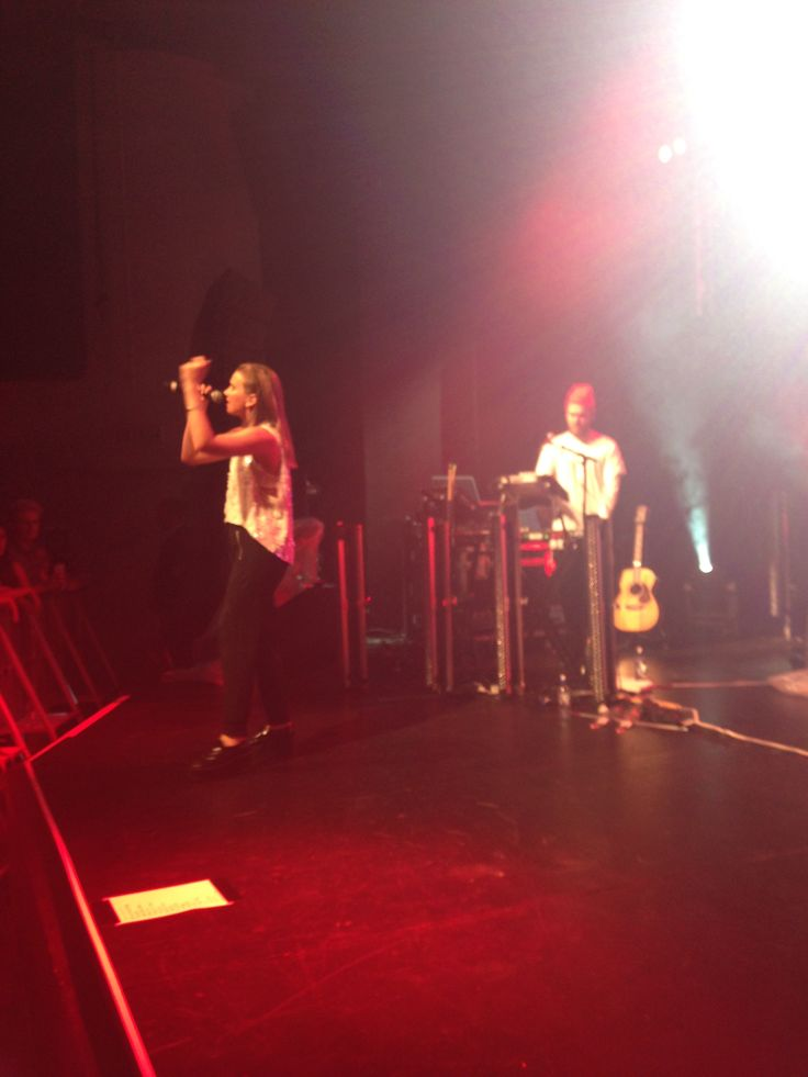 Broods x Evergreen Tour x St James Theatre Hamilton 14/2/15