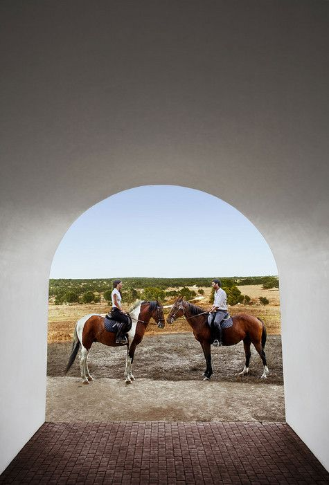 Eternal Sunshine in Portugal's Alentejo | Via Condé Nast Traveler | 7/03(2015 In central Portugal's Alentejo, Guy Trebay finds a region with robust cuisine, hot temperatures, medieval villages—and landscapes with a transcendental, soulful beauty virtually unaltered for centuries. #Portugal