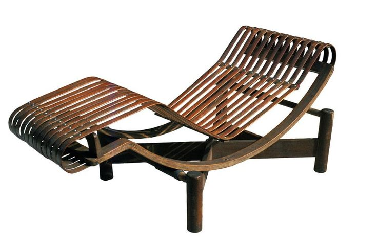 Charlotte Perriand: Chaise longue basculante, 1941