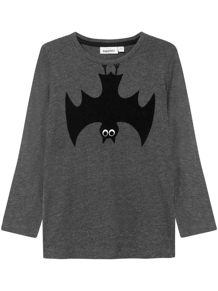 Halloween-topp med fladdermustryck & mantel – Shoppa hos KappAhl