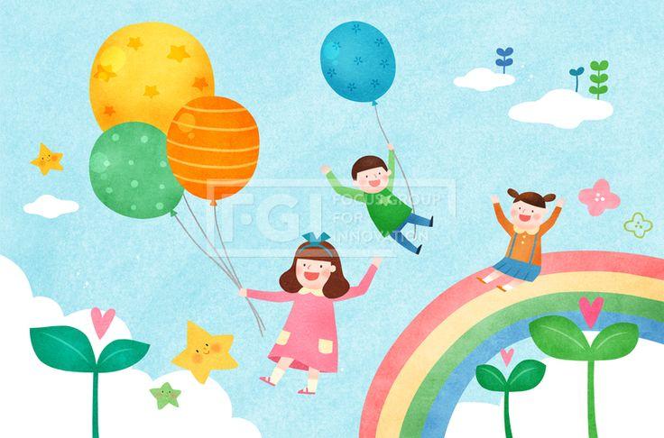 PAI125, 프리진, 일러스트, 가정의달, 에프지아이, 사람, 캐릭터, 가정, 가족, 패밀리, 행복, 사랑, 생활, 라이프, 5월, 남자, 여자, 봄, 꽃, 식물, 3인, 어린이, 어린이날, 풍선, 무지개, 구름, 하늘, 새싹, 하트, 별, 소녀, 소년, 앉아있는, 일러스트, illust, illustration #유토이미지 #프리진 #utoimage #freegine 19926479