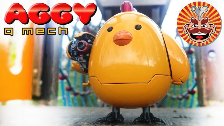 WazzUp Family Aggy Q Mech - Chicken Robot - Monsieur Toys