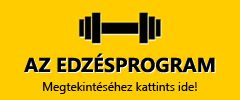 Edzésprogram hétfőtől szombatig