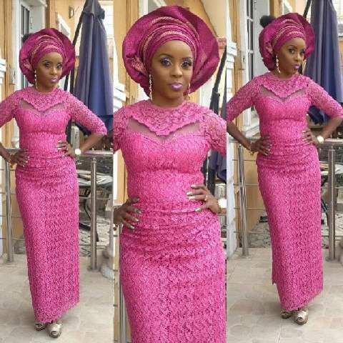Top Ten Unique And Stylish Aso Ebi Cord Lace Styles  Dabonke