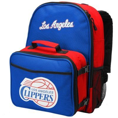 Los Angeles Clippers Daytripper Backpack and Lunchbox - Royal Blue/Red