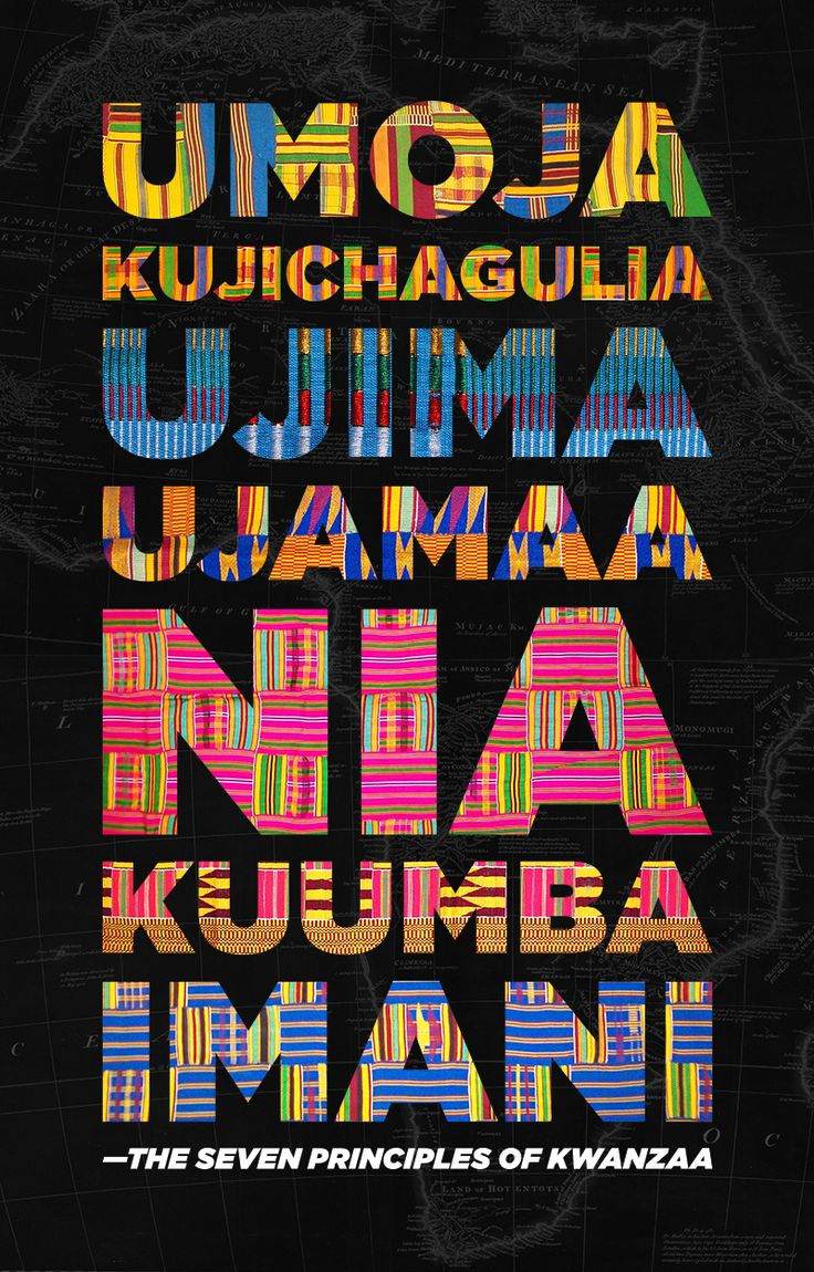 """evolutionstopshere: """"JAMBO! (HELLO in Swahili) Today, is the eve of Joyous Kwanzaa. In the next seven days we will celebrate the Nguzo Saba, the seven principles of Kwanzaa which are: Umoja for Unity,..."""