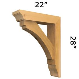 25 best ideas about wood brackets on pinterest - Exterior structural wood brackets ...