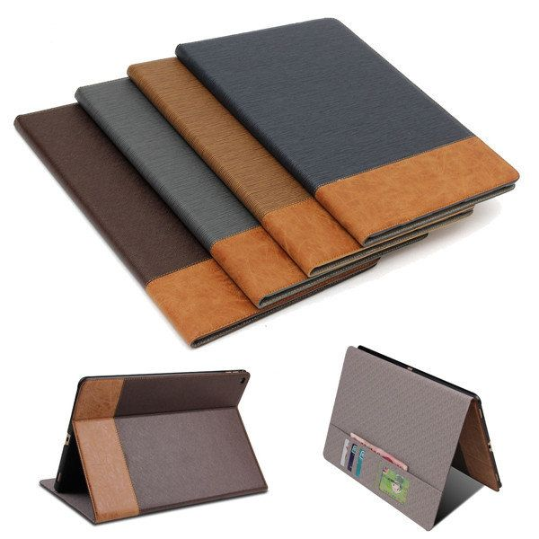 """For Apple iPad Pro 12.9"""" Magnetic PU Leather Stand Smart Back Cover Filp W…"""