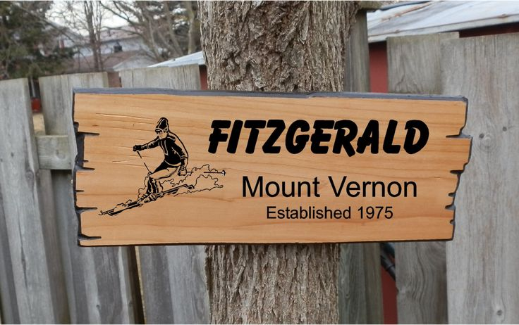 Skiing version of Custom Wooden Sign, rustic wooden style with choice of graphics and fonts is available at $42.00 https://www.etsy.com/listing/275725522/skiing-version-of-custom-wooden-sign?utm_source=mento&utm_medium=api&utm_campaign=api  #housewares #homedecor