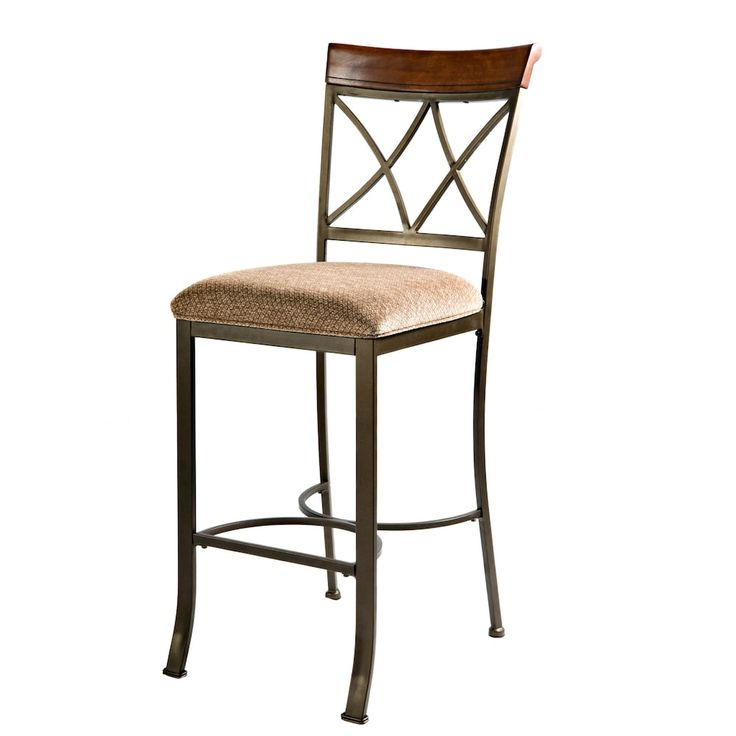 Hamilton Bar Chair, Brown