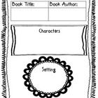 Students can fill out this graphic organizer while learning about characters, setting, major events, author illustrator.   Key words: Reading guide...