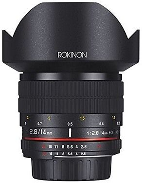 ROKINON AE14M-C 14mm F2.8 IF ED Super Wide Angle Lens - Canon AE