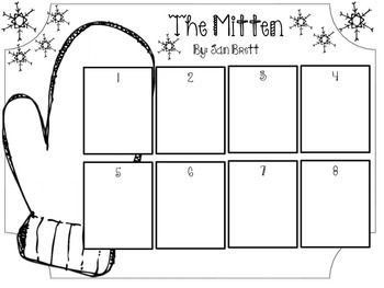 It is a graphic of Soft The Mitten Jan Brett Activities