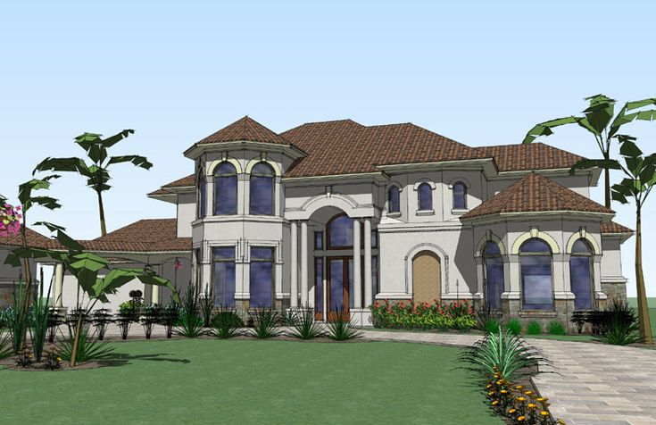 Luxurious Mediterranean Home Plan - 16825WG | 1st Floor Master Suite, Butler Walk-in Pantry, CAD Available, Den-Office-Library-Study, Florida, In-Law Suite, Luxury, Media-Game-Home Theater, Mediterranean, PDF | Architectural Designs